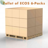 ECOS PRO, Mixed Pallet of 6-Packs, by Earth Friendly Products