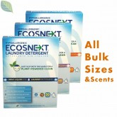 ECOSNEXT Liquid Free, Laundry Detergent Sheets| 953610, 953710, 953810 | Bulk Sizes
