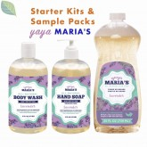 Yaya Maria's Natural, 6 Ingredient Soaps | Starter & Sampler Kits
