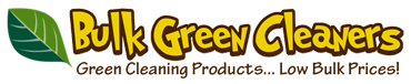 Green & Natural Cleaning Products at Low Bulk Prices!